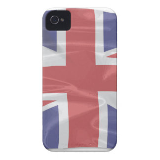 Fluttering Silk Union Jack Case-Mate iPhone 4 Cases