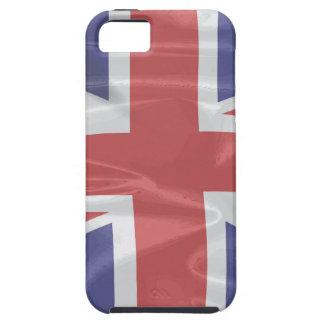 Fluttering Silk Union Jack iPhone 5 Case