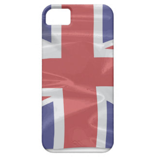 Fluttering Silk Union Jack iPhone 5 Cover