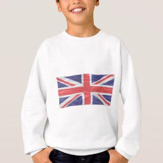 Fluttering Silk Union Jack Sweatshirt