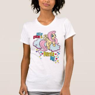 Fluttershy | Keep Calm & Flutter On! T-Shirt