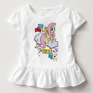 Fluttershy | Keep Calm & Flutter On! Toddler T-shirt