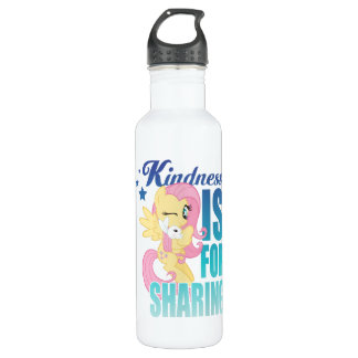 Fluttershy | Kindness Is For Sharing 710 Ml Water Bottle