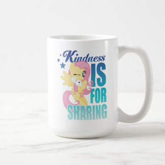 Fluttershy   Kindness Is For Sharing Coffee Mug