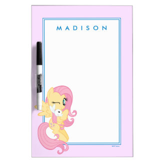 Fluttershy | Kindness Is For Sharing Dry Erase Board