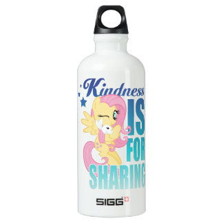 Fluttershy   Kindness Is For Sharing Water Bottle