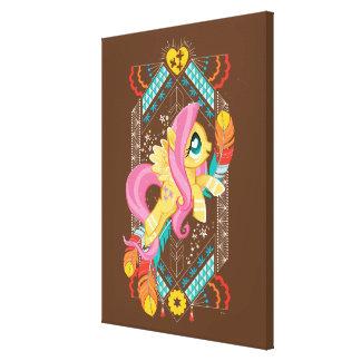 Fluttershy | Tribal Pastels Canvas Print