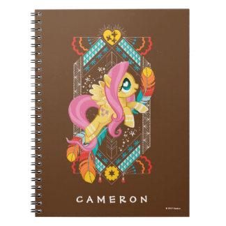 Fluttershy | Tribal Pastels Notebook