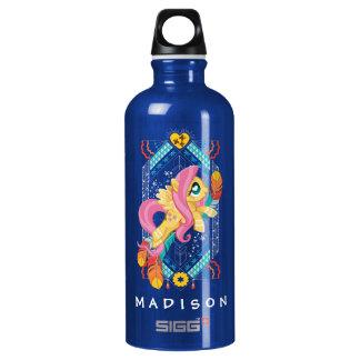 Fluttershy   Tribal Pastels Water Bottle