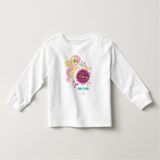 Fluttershy with Birds and Bees Toddler T-shirt