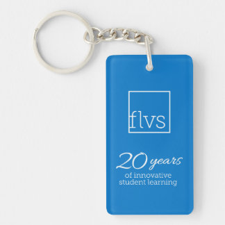FLVS 20 Years Keychain