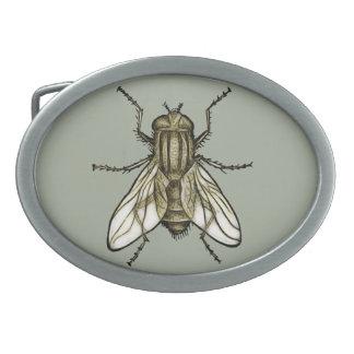 Fly 1a oval belt buckle