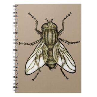 Fly 1a spiral notebook