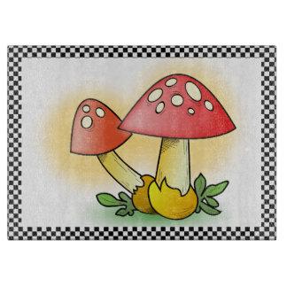 Fly Amanita Muscaria Mushrooms Cutting Board