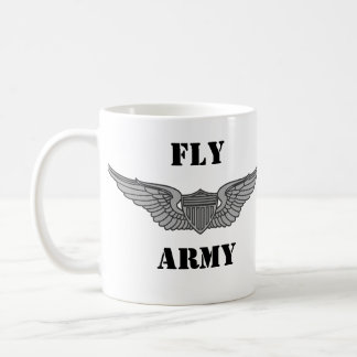 FLY ARMY CWO2 AVIATOR MUG