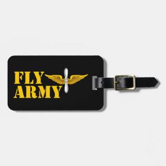 Fly Army Luggage Tag