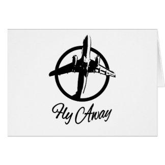 Fly Away Card