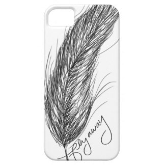Fly Away - Feather - iPhone 5 Case