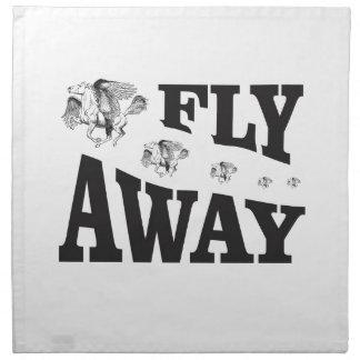 fly away horses napkin