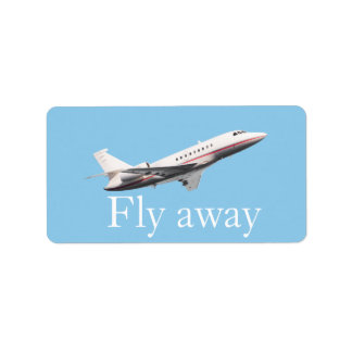 Fly away label