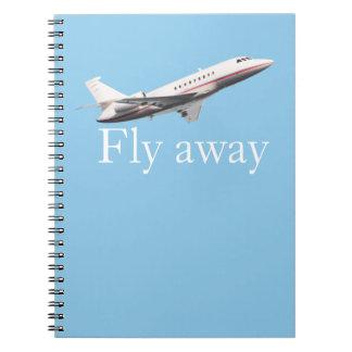 Fly away notebooks