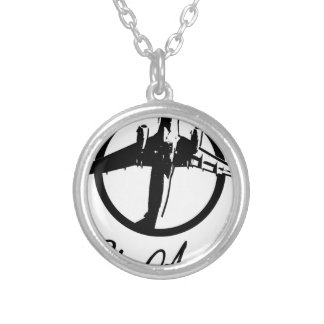 Fly Away Silver Plated Necklace