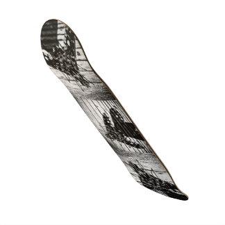 fly back skate board decks