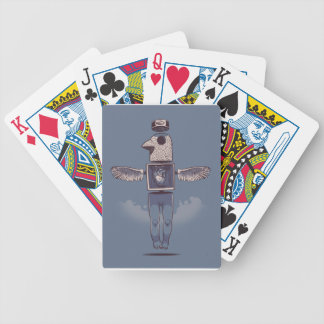 Fly Bicycle Playing Cards