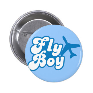FLY BOY with aeroplane jet Buttons