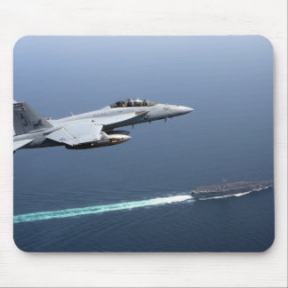 Fly By Navy Mousepad