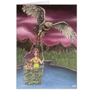 Fly By Night Notecard