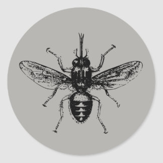 Fly Classic Round Sticker