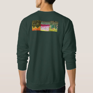 Fly Fish Fishing Angling for Trout Sweatshirt