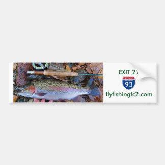 Fly Fishing Bumper Sticker