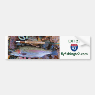 Fly Fishing Bumper Sticker