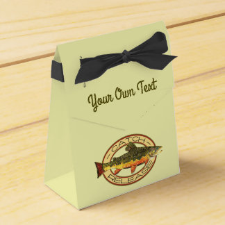 Fly Fishing Catch Release Party Favor Box