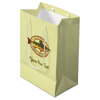 Fly Fishing Catch Release Party Medium Gift Bag
