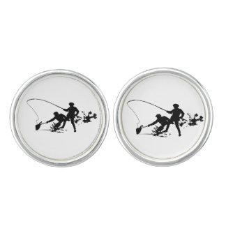 FLY FISHING -CUFFLINKS CUFFLINKS