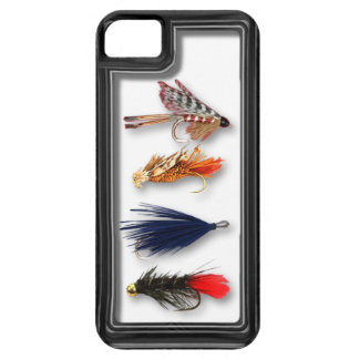Fly fishing flies - realistic box iPhone 5 covers