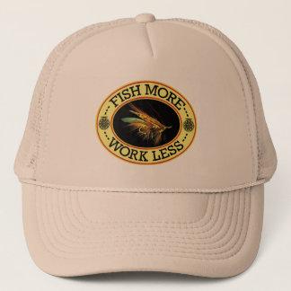 Fly Fishing for Big Salmon Trucker Hat