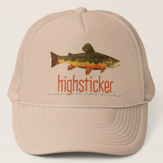 Fly Fishing Highsticker Trucker Hat