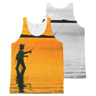 Fly Fishing image for All-Over-Printed-Unisex-Vest