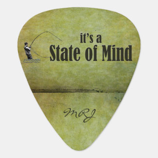 Fly Fishing | It's a State of Mind Guitar Pick