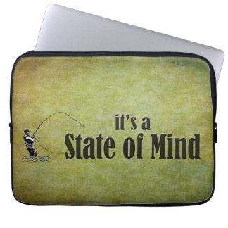 Fly Fishing | It's a State of Mind Laptop Sleeve