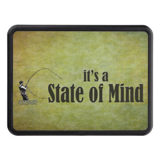 Fly Fishing | It's a State of Mind Trailer Hitch Cover