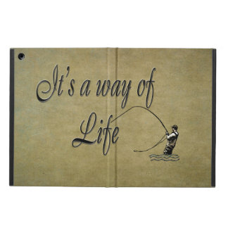 Fly-fishing - It's a Way of Life iPad Air Case