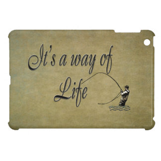 Fly fishing It's a Way of Life Love flyfishing Cover For The iPad Mini