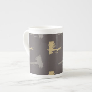 Fly Fishing Lures Pattern Tea Cup