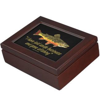 Fly Fishing Memory Box