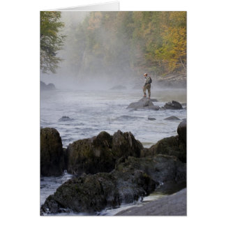 Fly Fishing Notecard